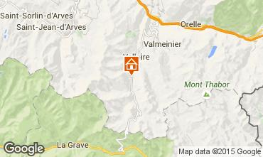 Kaart Valloire Appartement 50290