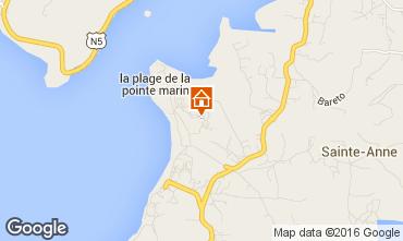 Kaart Sainte Anne (Martinique) Studio 30963
