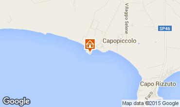 Kaart Isola di Capo Rizzuto Appartement 54877