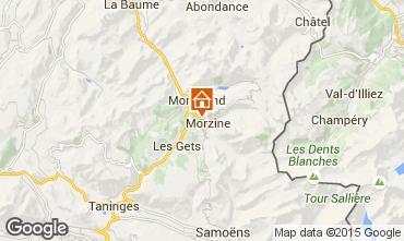 Kaart Morzine Appartement 39340