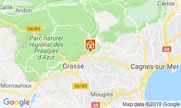 Kaart Grasse Villa 118680