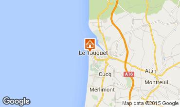 Kaart Le Touquet Appartement 30752