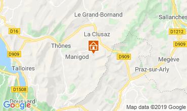 Kaart La Clusaz Appartement 112201
