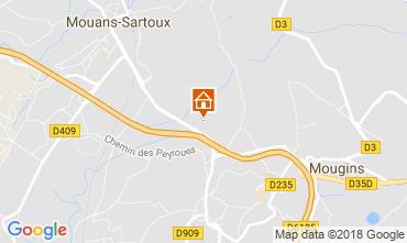 Kaart Cannes Appartement 115251