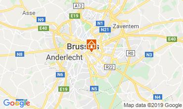 Kaart Brussel Appartement 118001