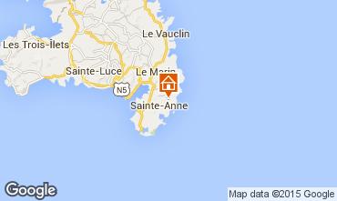 Kaart Sainte Anne (Martinique) Villa 8120