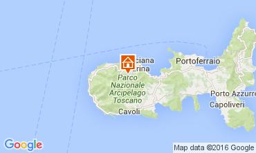 Kaart Marciana Appartement 33087