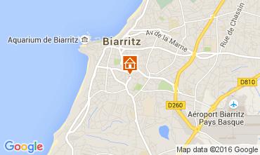 Kaart Biarritz Studio 105462