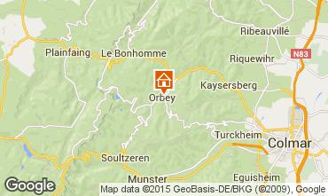 Kaart Orbey Appartement 68479