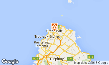 Kaart Grand Baie Appartement 89768