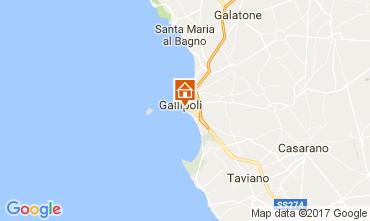 Kaart Gallipoli Appartement 108071