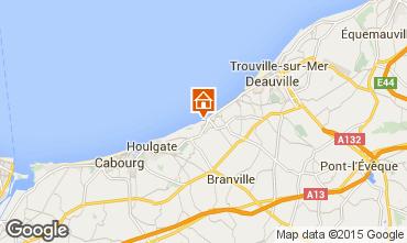 Kaart Villers sur Mer Huis 42353