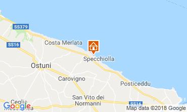 Kaart Ostuni Villa 94356