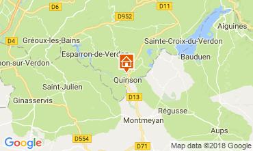Kaart Sainte-Croix-du-Verdon Villa 114381