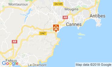 Kaart Cannes Appartement 116694