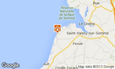 Kaart Cayeux-sur-Mer Appartement 80866