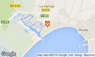 Kaart Empuriabrava Appartement 103014