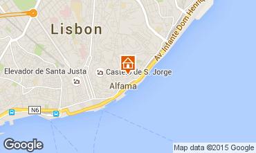Kaart Lissabon Studio 23997