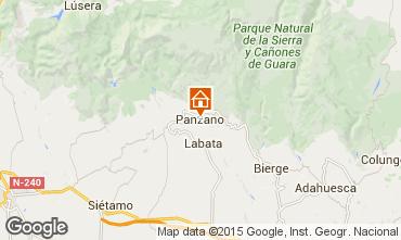 Kaart Alquézar Vakantiehuis 75993