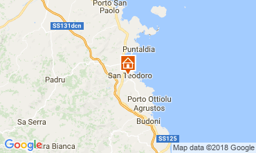Kaart San Teodoro Huis 107576