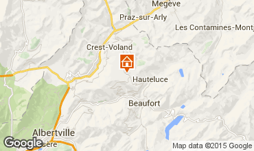 Kaart Les Saisies Studio 70264