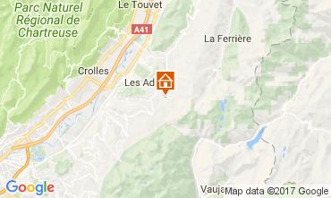 Kaart Les Sept Laux Appartement 112719