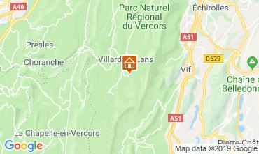 Kaart Villard de Lans - Corrençon en Vercors Studio 68518