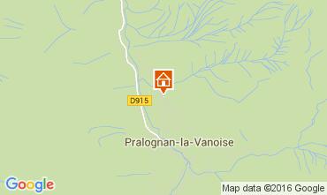 Kaart Pralognan la Vanoise Appartement 103987
