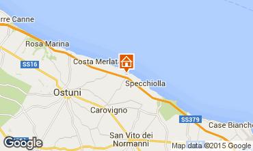 Kaart Ostuni Villa 95255