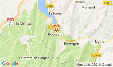 Kaart Annecy Appartement 115180