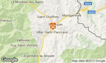 Kaart Serre Chevalier Chalet 66793