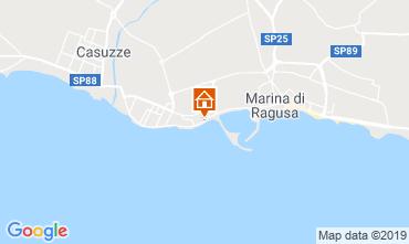 Kaart Marina di Ragusa Appartement 34177