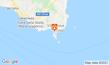 Kaart Villasimius Huis 114543