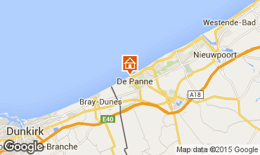 Kaart De Panne Studio 51695