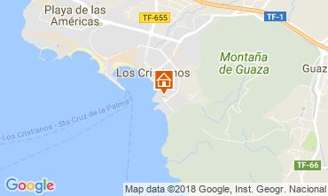 Kaart Los Cristianos Appartement 113441
