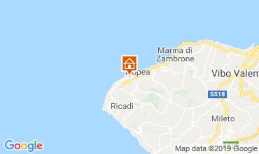 Kaart Tropea Appartement 71718