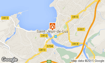 Kaart Saint Jean de Luz Appartement 47679