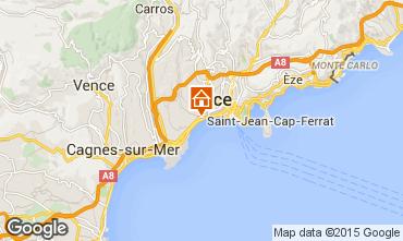 Kaart Nice Appartement 93557