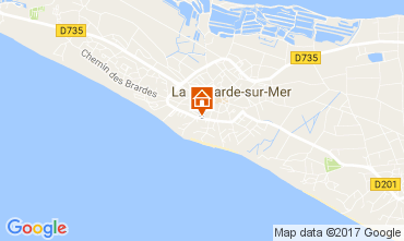 Kaart La Couarde-sur-Mer Appartement 108370