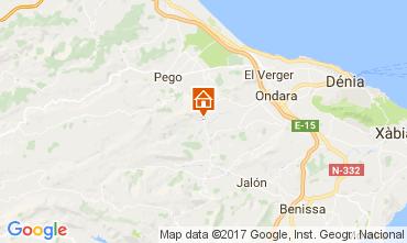 Kaart Dénia Villa 112167