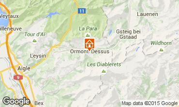 Kaart Les Diablerets Appartement 73953
