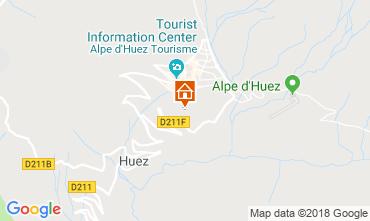Kaart Alpe d'Huez Appartement 101610