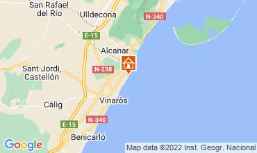 Kaart Vinaròs Villa 66989