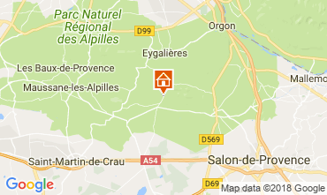 Kaart Eygalières Huis 114873