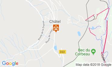Kaart Châtel Chalet 73726