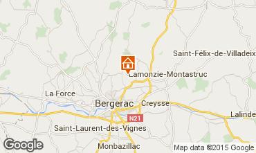 Kaart Bergerac Vakantiehuis 97571