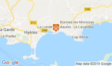 Kaart La Londe les Maures Appartement 68666