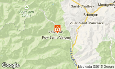 Kaart Puy Saint Vincent Chalet 94407