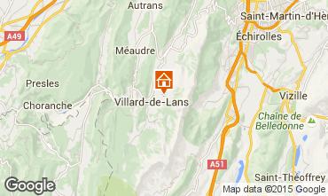 Kaart Villard de Lans - Corrençon en Vercors Chalet 3641