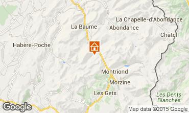 Kaart Saint Jean d'Aulps- La Grande Terche Appartement 38397
